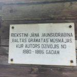 """Jāņa Jaunsudrabiņa muzejs """"Riekstiņi""""."""