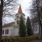 Saukas luterāņu baznīca.